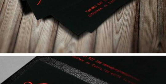 imprenta digital valencia. Impresión stamping rojo