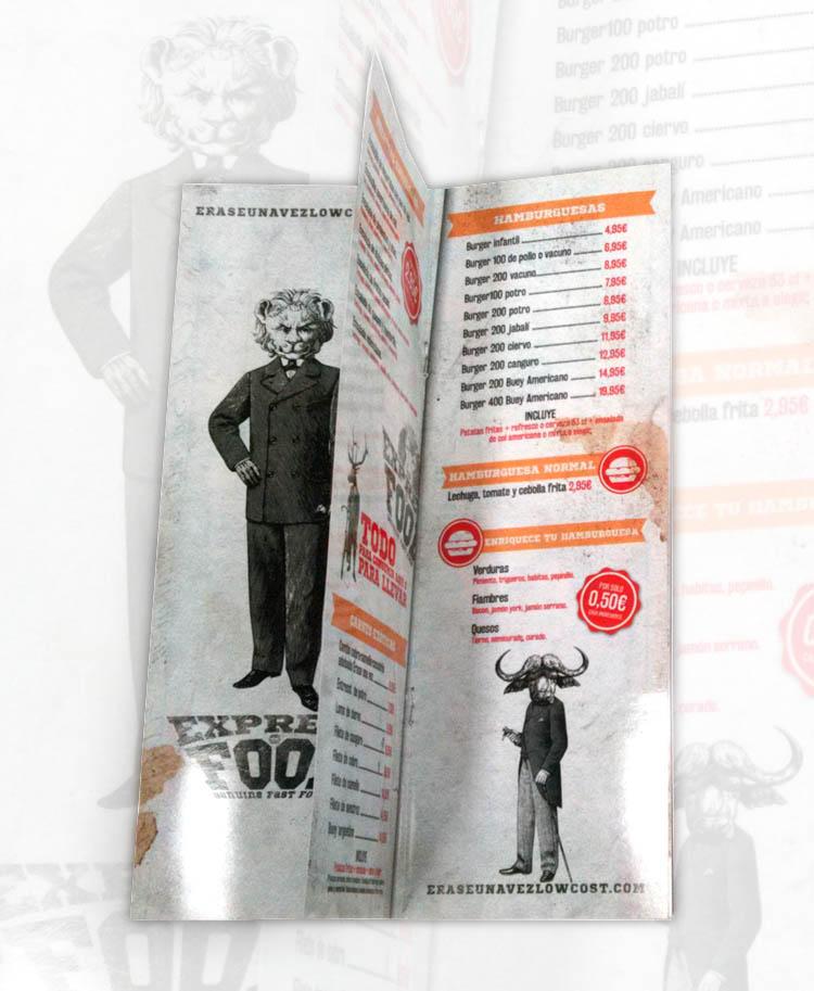 Impresion de cartas para restaurante imprenta digital valencia cartas