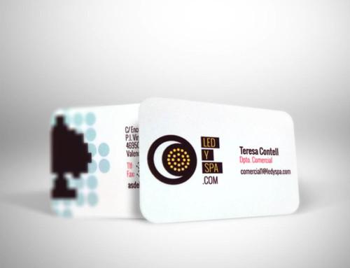 Impresión tarjetas corporativas