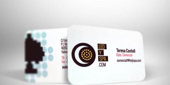 Impresión digital tarjetas corporativas Spa imprenta digital valencia