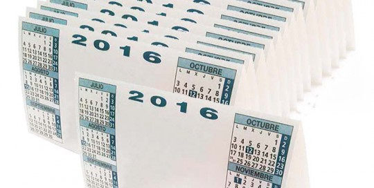 impresion digital valencia oferta de calendarios