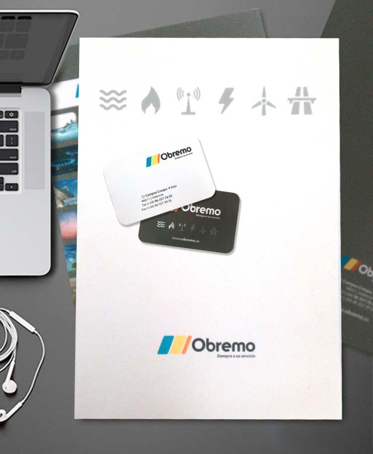 Impresión papelería obremo imprenta digital valencia