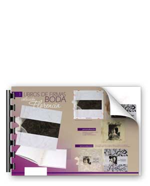 imprenta digital valencia de libros de firmas de bodas