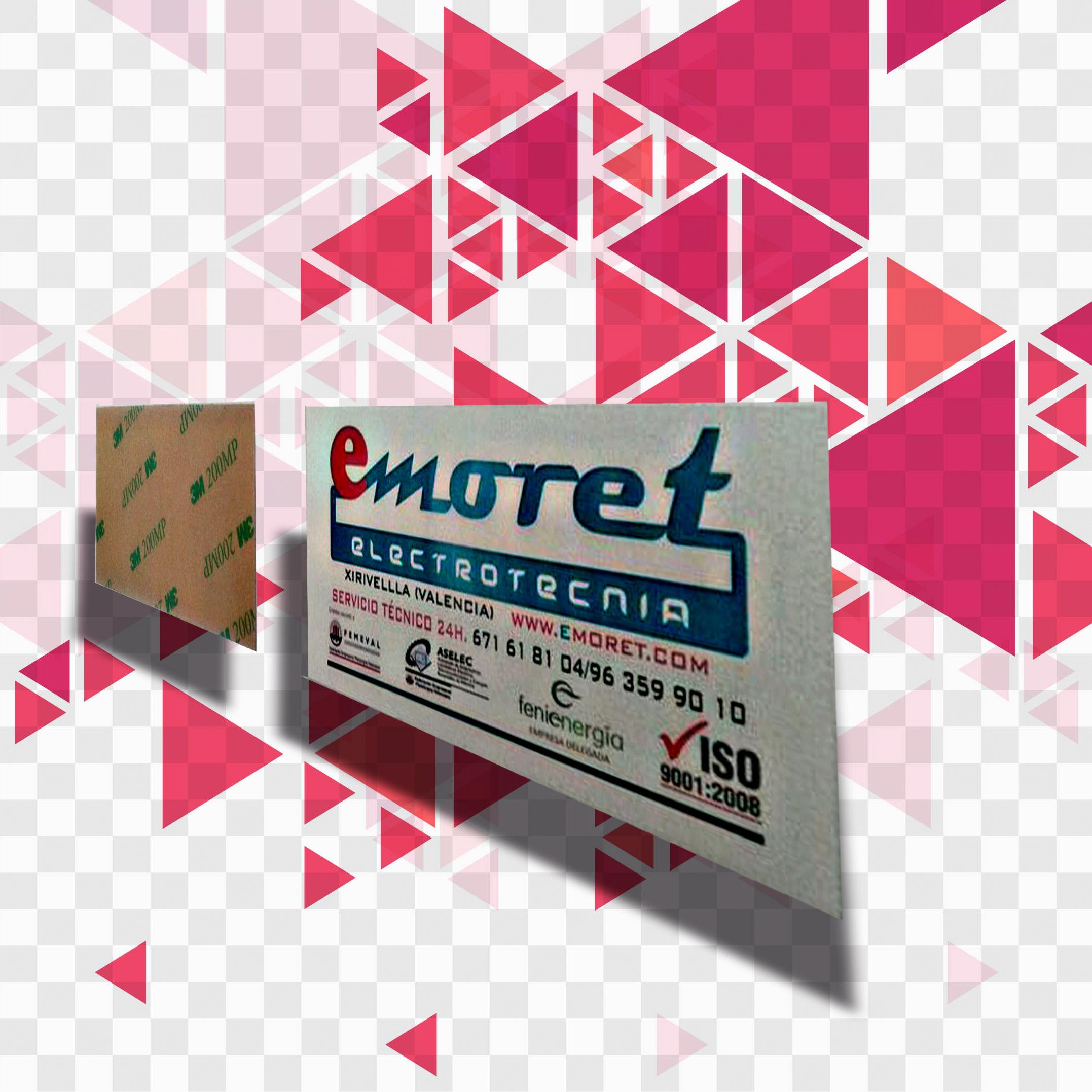 etiquetas pvc impreso adhesivo